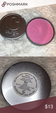 Cargo blush Cargo water resistant blush in color IBIZA  Used only a few times. Sanitized. cargo Makeup Blush