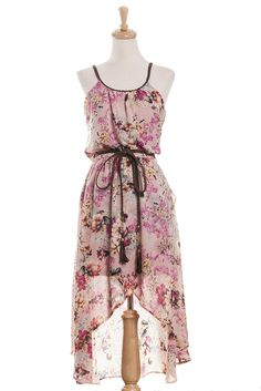 Spring wedding for guest  Floating Floral Dress | Tailor and Stylist