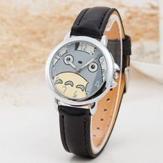 Totoro Leather Watch – Top Notch Products Tell time with this adorable Totoro…