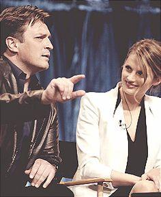 Nathan and Stana