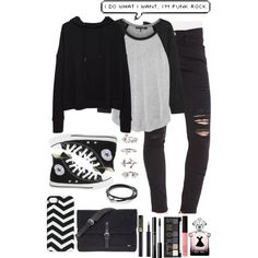 punk rock outfit ideas - Google Search