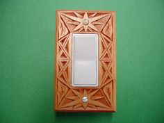 Art Deco electric switch and outlet cover plate by creativemind44, $22.00