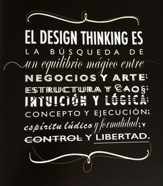 Design thinking para la innovación estratégica // Idris Mootee // Empresa Activa (Ediciones Urano) #citas #designthinking Design Thinking, Chalkboard Quotes, Art Quotes, Innovation, Inspiration, Frases, Quotes, New Media