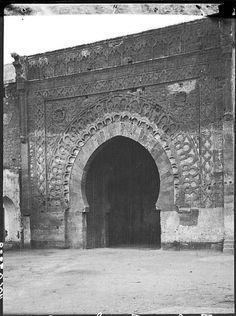Porte des Oudaïas  Vue d'ensemble de l'arche    1913