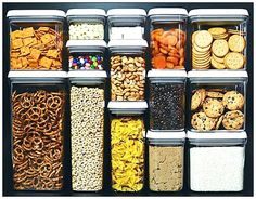 Air tight containers- i would love a pantry full of these