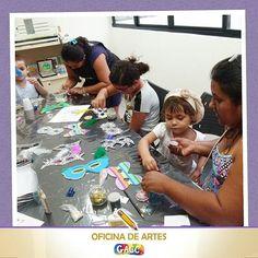 O carnaval já passou? Não no GACC! Hoje as crianças e mães participaram de uma oficina de máscaras para usar no bailinho do GACC o GACC Folia que será no dia 21 de Fevereiro. E amanhã tem mais oficina! :) #GACCRN #2016