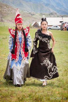 Altai girls.