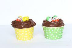Recette de muffins au Kinder de Pâques sur mon blog : www.teaetconfettis.com
