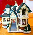 ST NICHOLAS SQUARE VILLAGE COLLECTION THE HART HOUSE RETIRED 2002  MINT