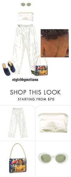 """change is good, right?"" by bebebannann ❤ liked on Polyvore featuring Chanel, Romeo Gigli and Acne Studios"