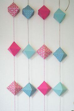 Dokuji - Guirlandes et décorations en papier