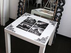 Декупаж. Как мы превратили старый стол в произведение искусства | Ярмарка Мастеров - ручная работа, handmade