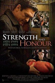 https://en.wikipedia.org/wiki/Strength_and_Honour http://www.rogerebert.com/reviews/strength-and-honor-2007