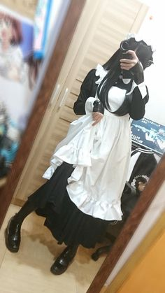 Maid Outfit, Maid Dress, French Maid Costume, New Outfits, Fashion Outfits, Maid Cosplay, Maid Uniform, Japan Girl, Well Dressed