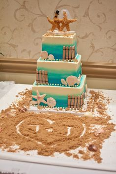 "Initials in ""sand""... this can be incorporated anywhere in the reception"