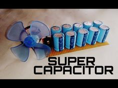 Super capacitor | how to make super capacitor for free energy generator using capacitor. - YouTube