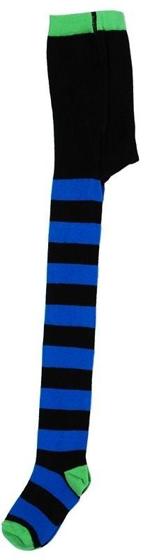 Maillot (Duns) - zwart blauw gestreept met groene teen