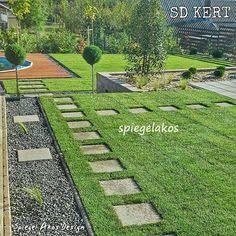 Garden Styles, Garden Inspiration, Stepping Stones, Outdoor Decor, Gardening, Porches, Home Decor, House Ideas, Courtyards
