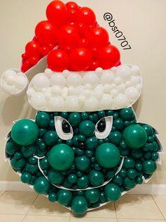 Donut Decorations, Balloon Decorations, Christmas Decorations, Balloon Ribbon, One Balloon, Christmas Mosaics, Christmas Diy, Baby Shower Balloons, Birthday Balloons