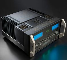The Integrated Amplifier can you help you achieve audio perfection. Our largest integrated in both size and power, it offers 300 Watts per channel and combines our amplifier and preamplifier expertise into one comprehensive unit. Dj Speakers, Audiophile Speakers, Hifi Audio, High End Hifi, High End Audio, Valve Amplifier, Audio Store, Receptor, Professional Audio