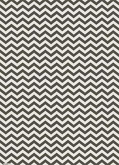 To cover storage boxes for the new open shelving in the kitchen and/or laundry room.    Slate Chevron Wrapping Paper