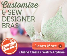 If you've been frustrated in finding a good fitted bra. this is a class that you must take. LOVE IT!!