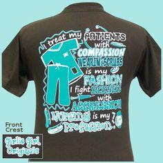 nurse shirt :) Maybe an idea for medical-surgical nurses week @Kimberly Peterson Hixson, @Keely Hamilton Metcalf, @Sophia Thomas Towers, @Nicole Novembrino Keen   What do you think?