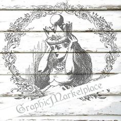 Alice in Wonderland Instant Download by GraphicMarketplace on Etsy