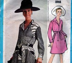 Sz 12 60s Vintage Vogue Sewing Pattern  by allthepreciousthings, $22.00