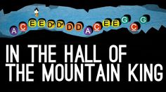 Vuorenpeikkojen tanssi Putket A, matala C, D, D#, E, G, G#, B, korkea C