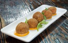 MyMoon Restaurant & Bar ~ Ham & Spinach Croquettes