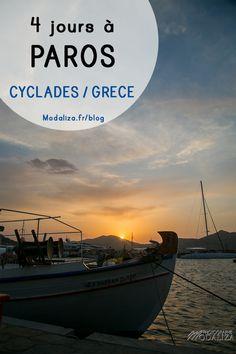 paros travel blog guide voyage grece naoussa port Parikia bons plans et astuces 4 jours sejour ile grecque cyclades by modaliza photographe