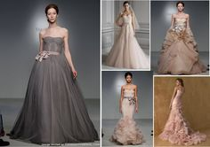 colored wedding dresses - Google Search