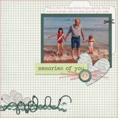 """Made with """"Remembering You"""" by Shel Belle Scraps from Scraps N Pieces."""