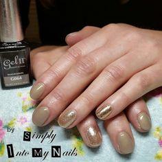 Gel II Imagination with Golden Mirage and Magpie Goldie