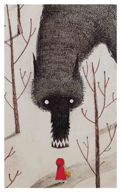 The big bad wolf and other creatures of the forests and swamps.