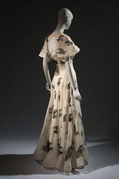 Elegance in an Age of Crisis - Vionnet evening gown from the 1930s