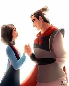 Disney Couples for #Shiptember Best of Disney Art by Archibald Art