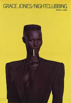 Anonymous, ca Grace Jones / Nightclubbing. Cool Album Covers, Music Album Covers, Music Tv, Music Albums, Disco Funk, Grace Jones, Studio 54, My Black Is Beautiful, Post Punk