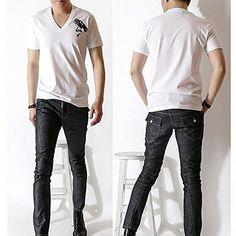 (ディースクエアード) DSQUARED Men's T-shirt 大人気 Vネック GD0023S224271... https://www.amazon.co.jp/dp/B01HEEGJ7M/ref=cm_sw_r_pi_dp_D6rBxb0YVER3C