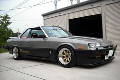 The R31 GTS-R, made in the 80's. Not particularly nice to look at nor a true GTR, yet a precursor for something amazing to be put out by Nissan