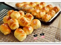 Roti Unyil Keju Favorit Papa+anak2 ( Mini Cheesy roll bun)  recipe step 6 photo