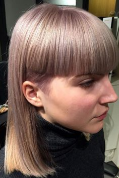 For a more avant-garde approach to the trend, look to Moreteasir Salon in Copenhagen. This chop boasts an edgy secret — a baby undercut — and ends that are wonderfully precise. #refinery29 http://www.refinery29.com/2016/11/128014/international-hairstyles-trends-2016#slide-9
