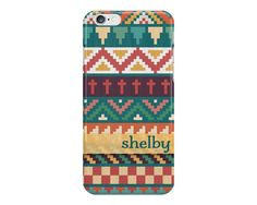 Southwestern Art Pattern iPhone or Samsung by NoondaybyTracey
