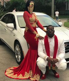 Evening Dresses 2019 Dark Red New Dubai Arabic Prom Gowns Long Sleeve Mermaid Gold Lace Applique Party Dress Black Couple Day Prom Girl Dresses, Long Prom Gowns, Prom Outfits, Homecoming Dresses, Swag Outfits, 1940s Evening Dresses, Mermaid Evening Dresses, Prom Goals, Prom Couples