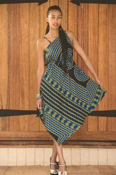 Kamanga wear a Zambian fashion label Ankara Styles For Women, African Dresses For Women, African Print Dresses, African Attire, African Wear, African Women, African Prints, African Style, African American Fashion