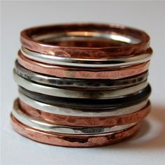 Never enough stacked rings