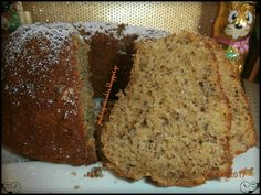 ed ecco la sfogliatura! Greek Sweets, Greek Desserts, Greek Recipes, Cooking Cake, Fat Foods, Pastry Cake, Fall Recipes, Cookie Recipes, Banana Bread