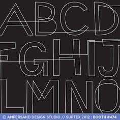 continuous line ABC