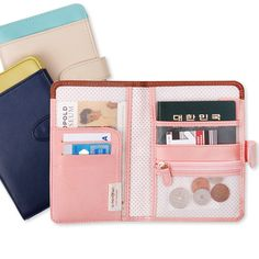 Button Anti Skimming Passport Wallet - Perfect Travel Wallet, just needs one more card pocket